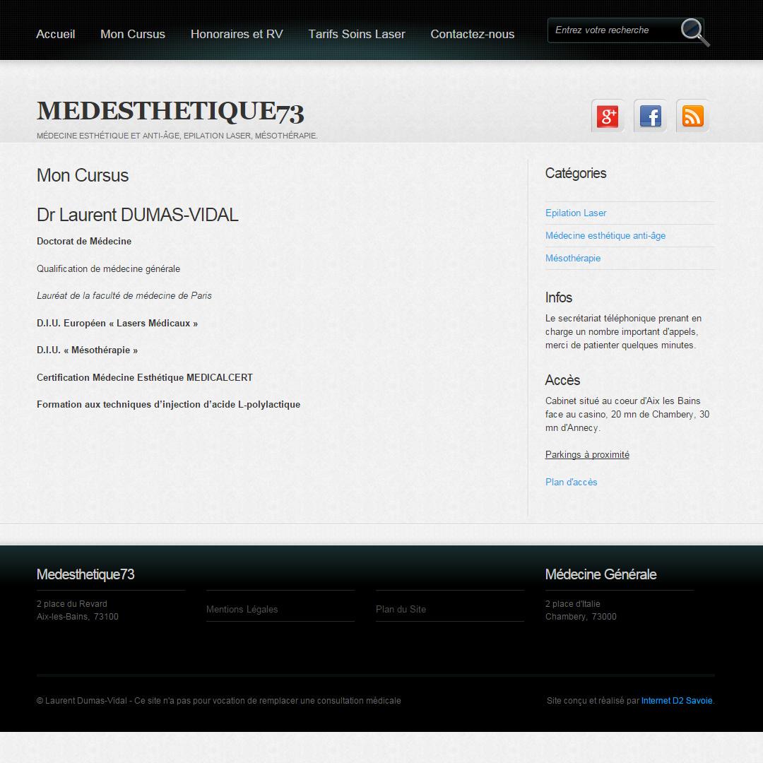 Medesthetique73 Internet D2 Savoie